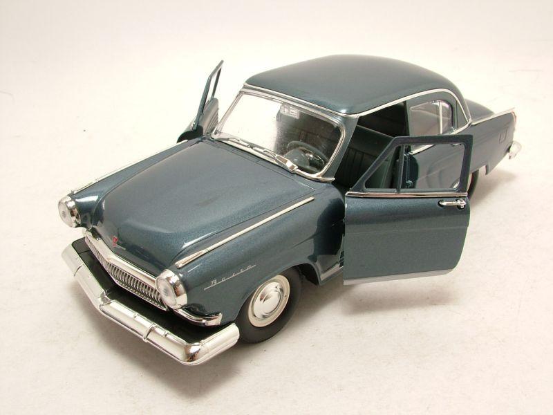 GAZ Volga M-21 1970 blaugrau metallic Modellauto 1:24 Lucky Die Cast