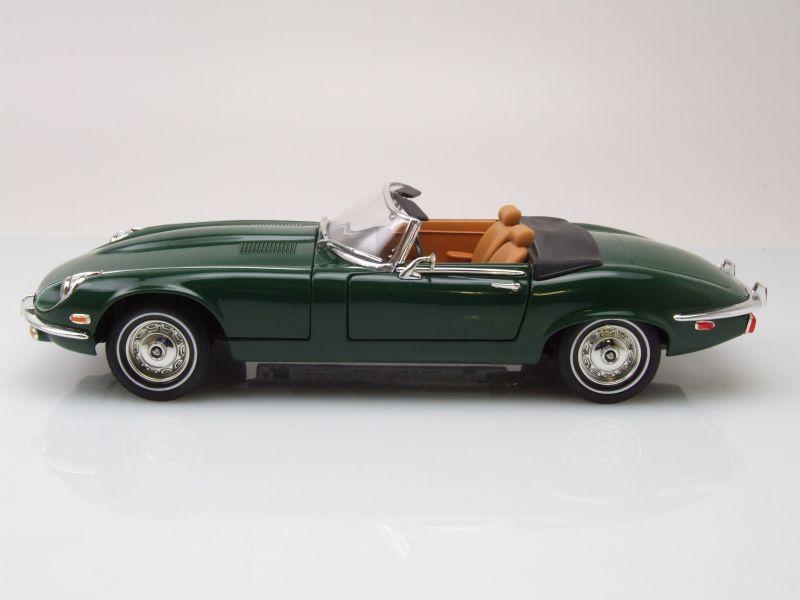 jaguar e type cabrio 1971 gr n modellauto 1 18 lucky. Black Bedroom Furniture Sets. Home Design Ideas
