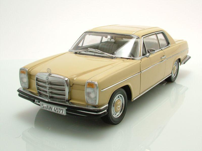 mercedes 8 strichachter coupe w115 1973 gelb. Black Bedroom Furniture Sets. Home Design Ideas