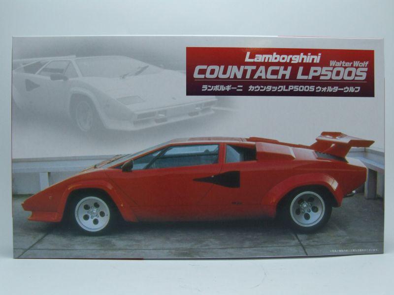 Bausatz Lamborghini Countach Lp500s Walter Wolf Kunststoffbausatz