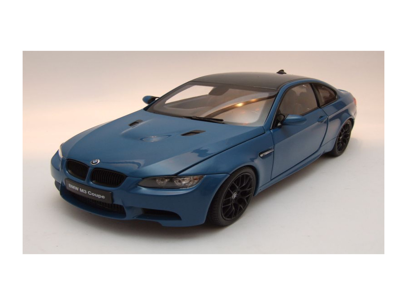 bmw m3 coupe e92 2013 blau modellauto 1 18 kyosho. Black Bedroom Furniture Sets. Home Design Ideas