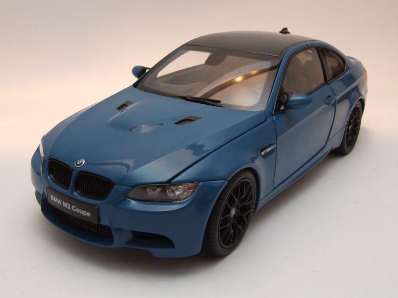 BMW M3 Coupe E92 2013 Blau Modellauto 118 Kyosho