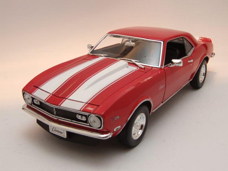 chevrolet camaro z28 1968 rot modellauto 1 18 welly 42. Black Bedroom Furniture Sets. Home Design Ideas