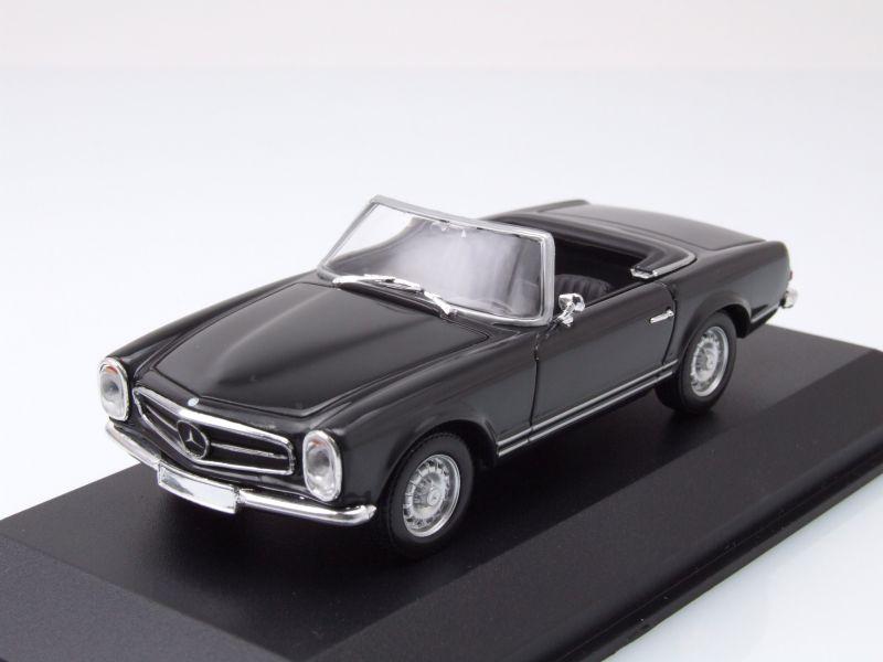 mercedes 230 sl cabrio pagode w113 1965 dunkelgrau. Black Bedroom Furniture Sets. Home Design Ideas
