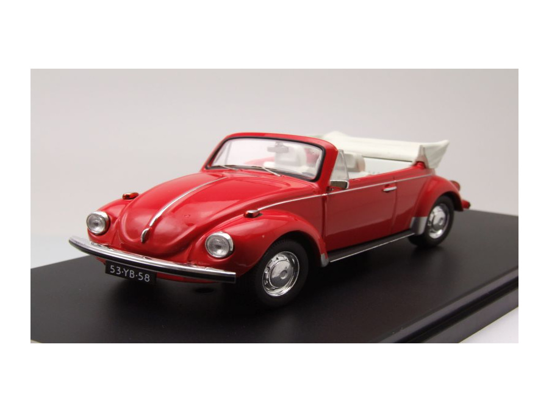 vw k fer cabrio 1973 rot modellauto 1 43 premium x. Black Bedroom Furniture Sets. Home Design Ideas