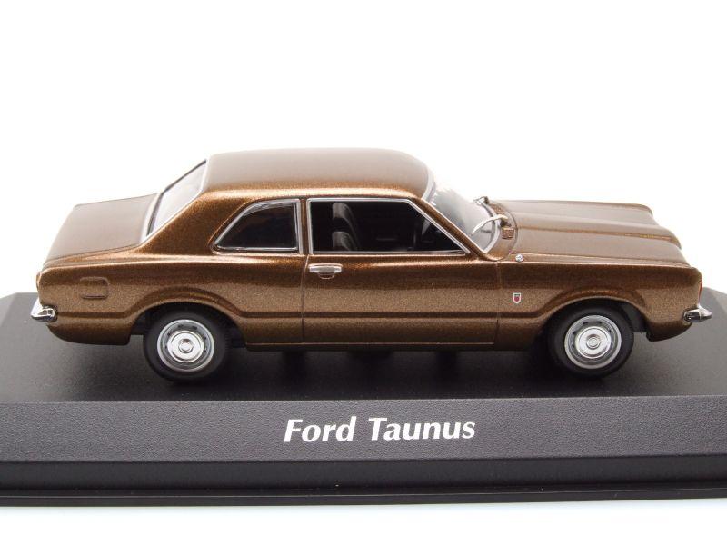 ford taunus 1970 braun metallic modellauto 1 43. Black Bedroom Furniture Sets. Home Design Ideas