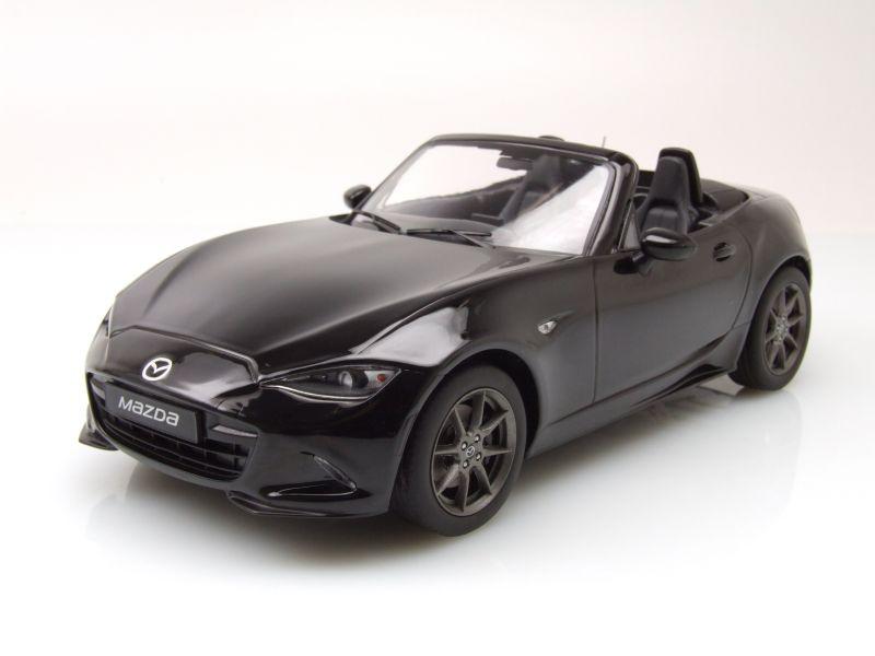 mazda mx 5 cabrio 2015 schwarz modellauto 1 18 triple9 67 95. Black Bedroom Furniture Sets. Home Design Ideas