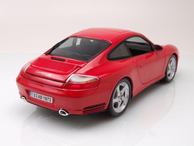 porsche 911 996 carrera 4s rot modellauto 1 18 maisto. Black Bedroom Furniture Sets. Home Design Ideas
