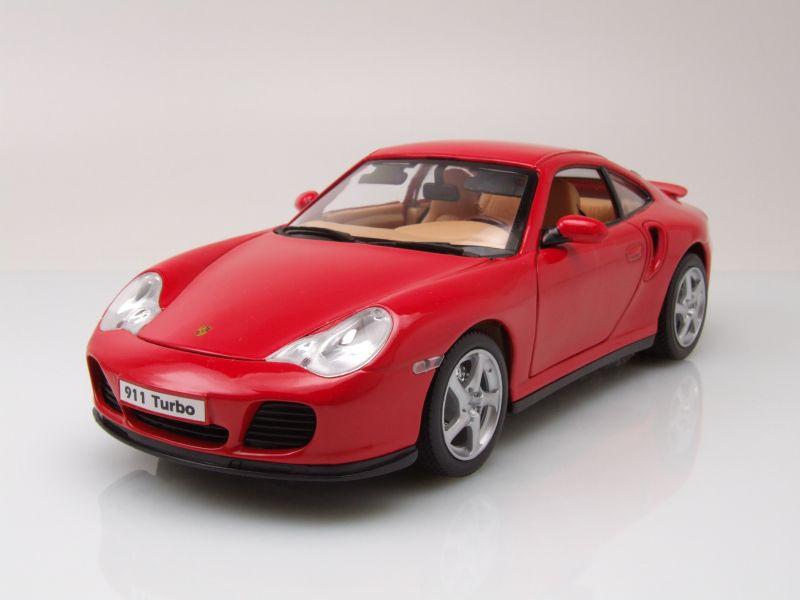 porsche 911 996 turbo rot modellauto 1 18 welly 32 95. Black Bedroom Furniture Sets. Home Design Ideas