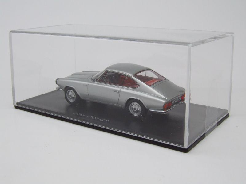 glas 1700 gt 1965 silber modellauto 1 43 neo scale. Black Bedroom Furniture Sets. Home Design Ideas