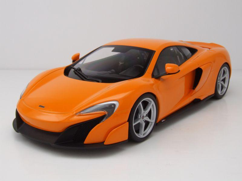 mclaren 675lt 2015 orange modellauto 1 18 kyosho 97 95. Black Bedroom Furniture Sets. Home Design Ideas