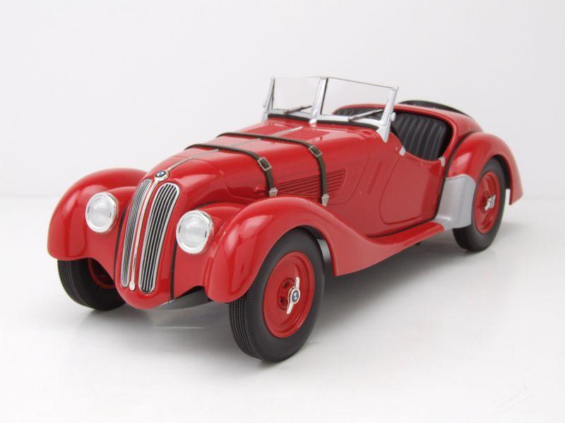 bmw 328 cabrio 1936 rot modellauto 1 18 minichamps 88 95. Black Bedroom Furniture Sets. Home Design Ideas