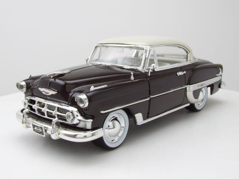 Chevrolet bel air 1953 braun metallic modellauto 124 for Xara m bel