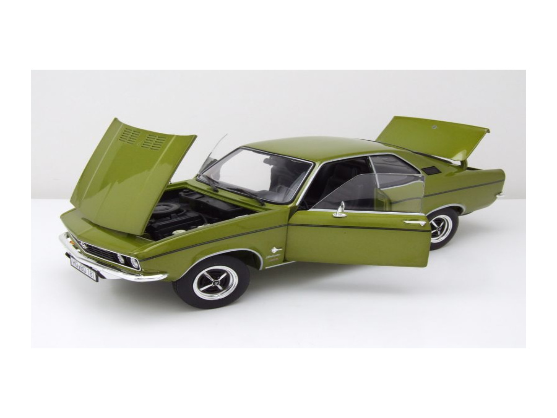 modellauto opel manta 1970 limonen gr n metallic. Black Bedroom Furniture Sets. Home Design Ideas
