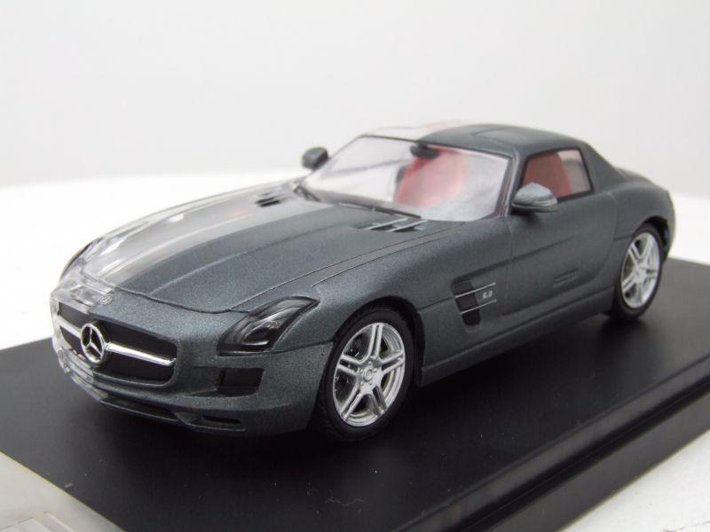 modellauto mercedes sls amg 2011 matt grau metallic. Black Bedroom Furniture Sets. Home Design Ideas