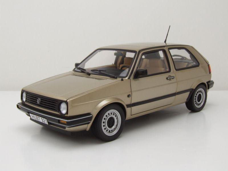 vw golf 2 cl 1988 beige metallic modellauto 1 18 norev. Black Bedroom Furniture Sets. Home Design Ideas