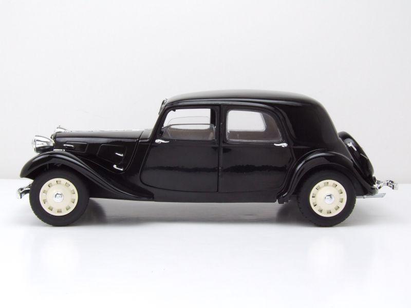 citroen traction 11cv 1937 schwarz modellauto 1 18 solido
