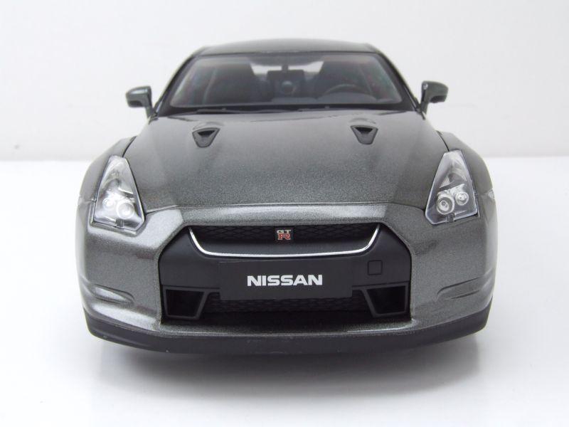 modellauto nissan gtr r35 2008 dunkelgrau metallic. Black Bedroom Furniture Sets. Home Design Ideas