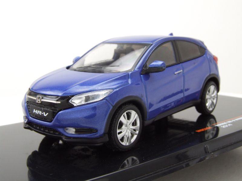 modellauto honda hr v hybrid 2014 blau metallic modellauto 1 43 ixo models 29 95. Black Bedroom Furniture Sets. Home Design Ideas