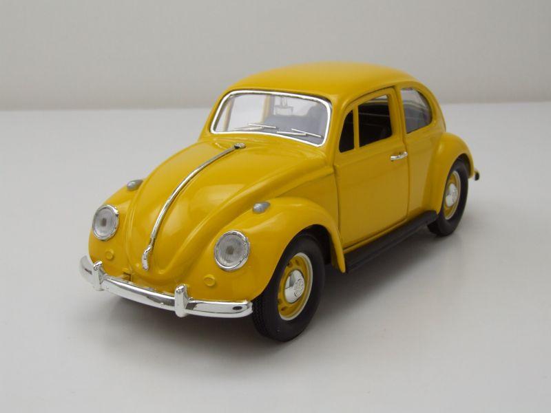 modellauto vw k fer 1967 gelb modellauto 1 24 lucky die. Black Bedroom Furniture Sets. Home Design Ideas