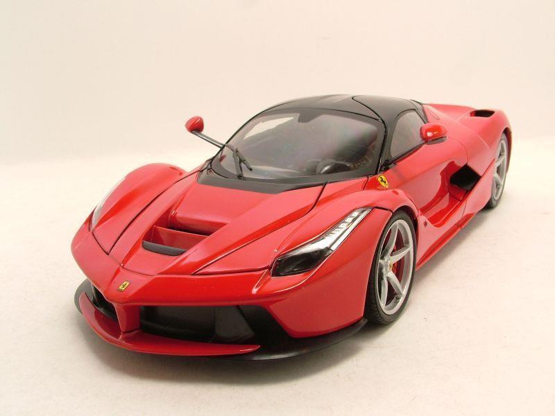 ferrari laferrari 2013 rot modellauto 1 18 mattel hot. Black Bedroom Furniture Sets. Home Design Ideas