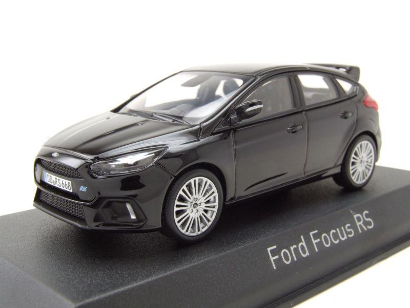 Ford Focus RS 2016 schwarz Modellauto 1:43 Norev