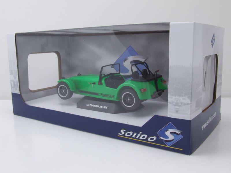 Caterham Seven 275R grün Modellauto 1:18 Solido