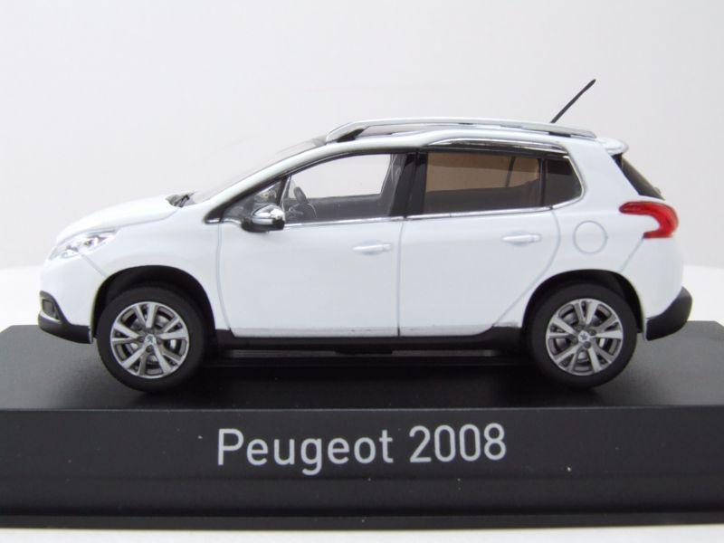 Peugeot 2008 SUV Grün Blau Ab 2013 1//64 Norev Modell Auto mit oder ohne individi