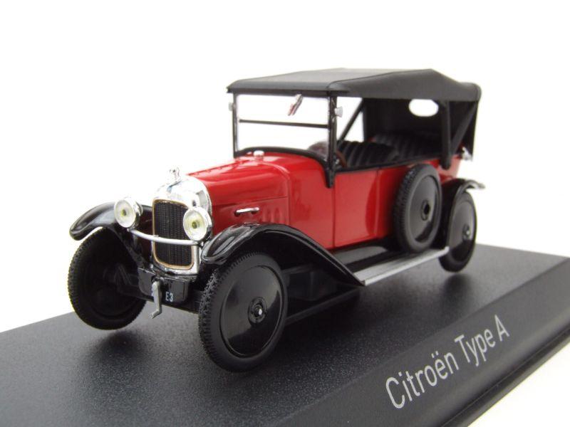 modellauto citroen type a 1919 rot schwarz modellauto 1 43 norev 36 95. Black Bedroom Furniture Sets. Home Design Ideas