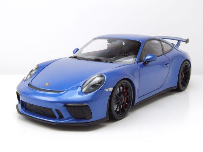 GT3 2017 blau metallic Modellauto 1:18 Minichamps Porsche 911 991