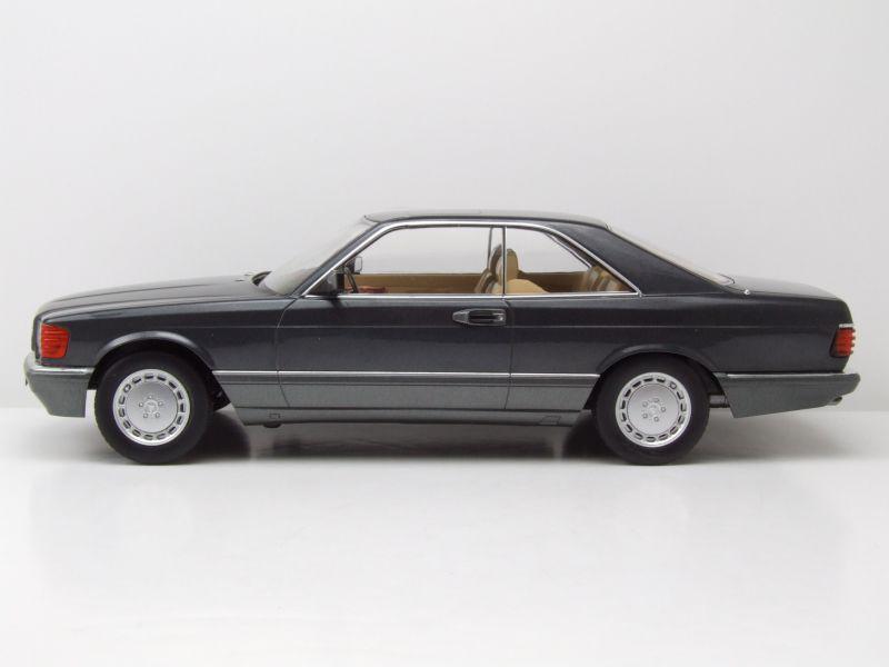 Mercedes 560 SEC C126 1985 anthrazit 1:18 KK-Scale 180331 neu /& OVP