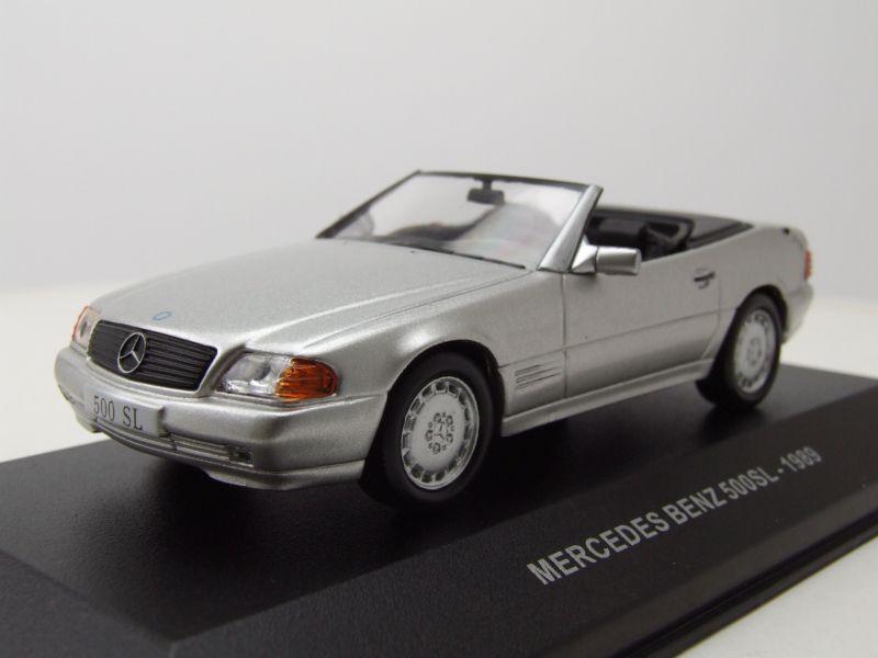 1989-NUOVO argento Solido 421436490-1//43 Mercedes-Benz 500 sl
