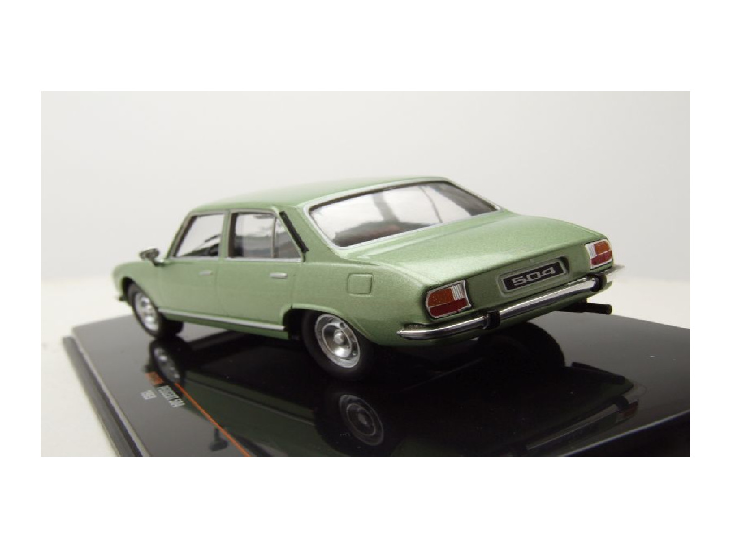 Peugeot 504 1969 grün metallic Modellauto 1:43 ixo models