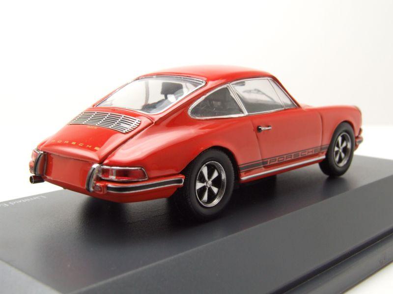 Porsche 911 S 1971 orange Modellauto 1:43 Schuco