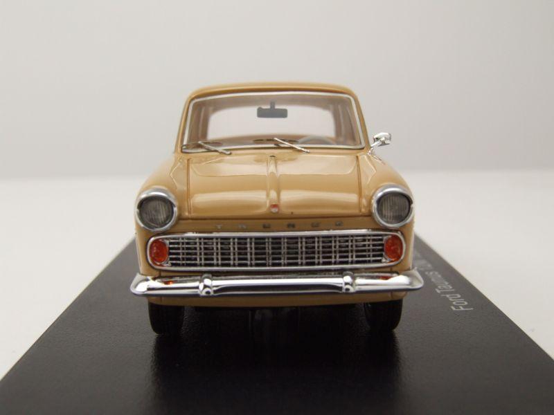 Ford Taunus 12m Limousine 1959 beige coche modelo 1:43 neo scale models