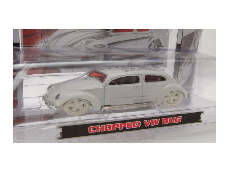 VW Käfer ovali chopped weiß Modellauto 1:64 Maisto