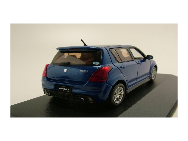 suzuki swift sport 2007 blau metallic modellauto 1 43 j collection 34 95. Black Bedroom Furniture Sets. Home Design Ideas