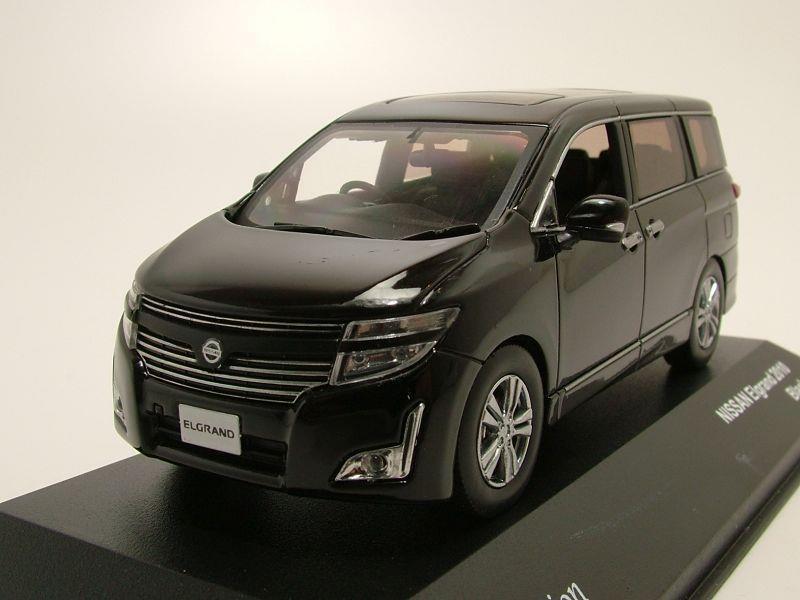 nissan elgrand 2010 schwarz metallic modellauto 1 43 j collection 39 95. Black Bedroom Furniture Sets. Home Design Ideas