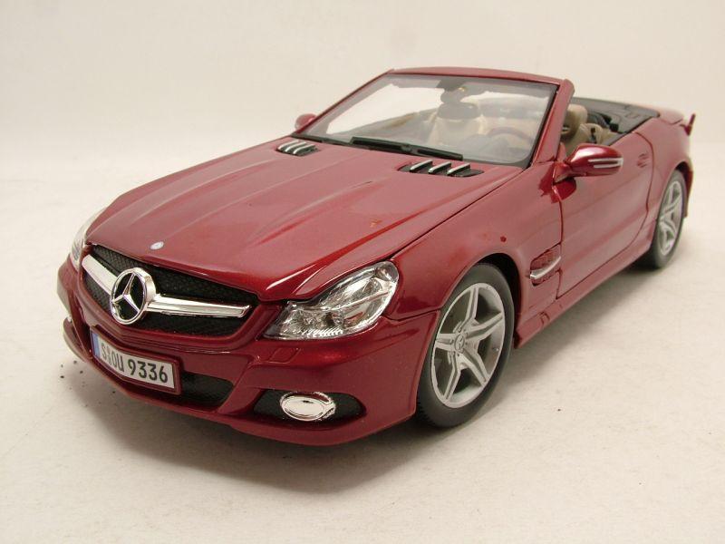 Modellauto Mercedes Sl Cabrio Anthrazit