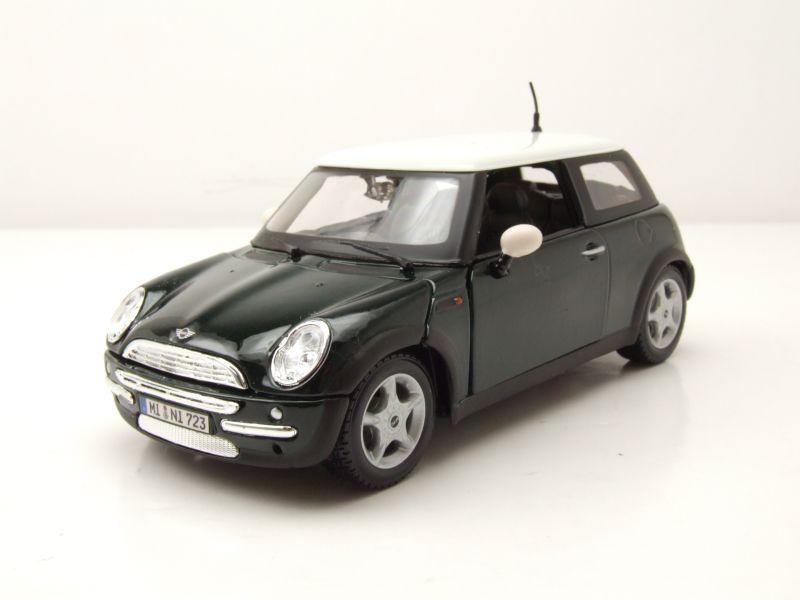 Bmw Mini Cooper Grün Metallic Modellauto 124 Maisto