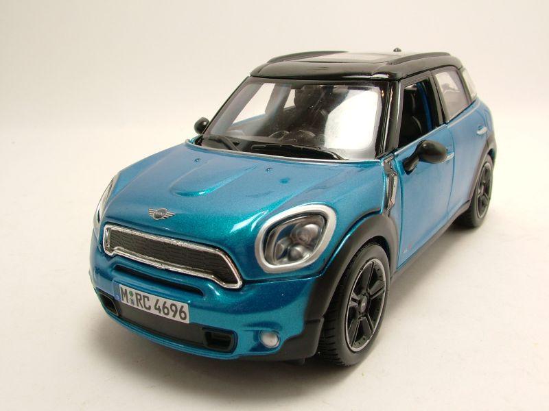 bmw mini countryman 2012 blau metallic modellauto 1 24. Black Bedroom Furniture Sets. Home Design Ideas