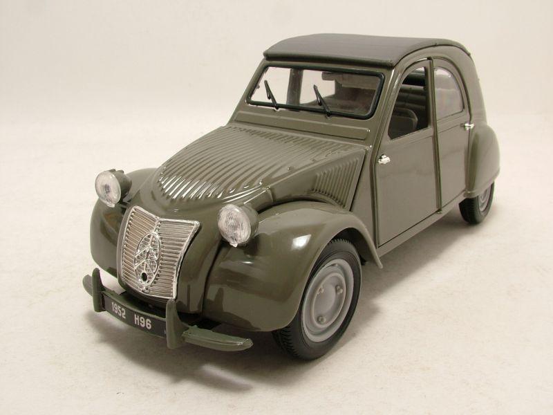 modellauto citroen 2cv ente 1952 grau modellauto 1 18