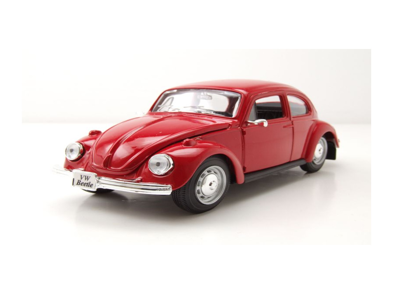vw k fer 1973 rot modellauto 1 24 maisto 19 95. Black Bedroom Furniture Sets. Home Design Ideas