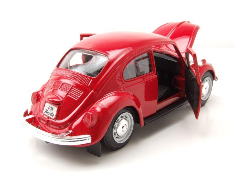 Maisto VW Käfer 1973 rot Modellauto 1:24