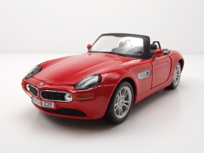 Modellauto Bmw Z8 Cabrio Rot Modellauto 124 Maisto 1595