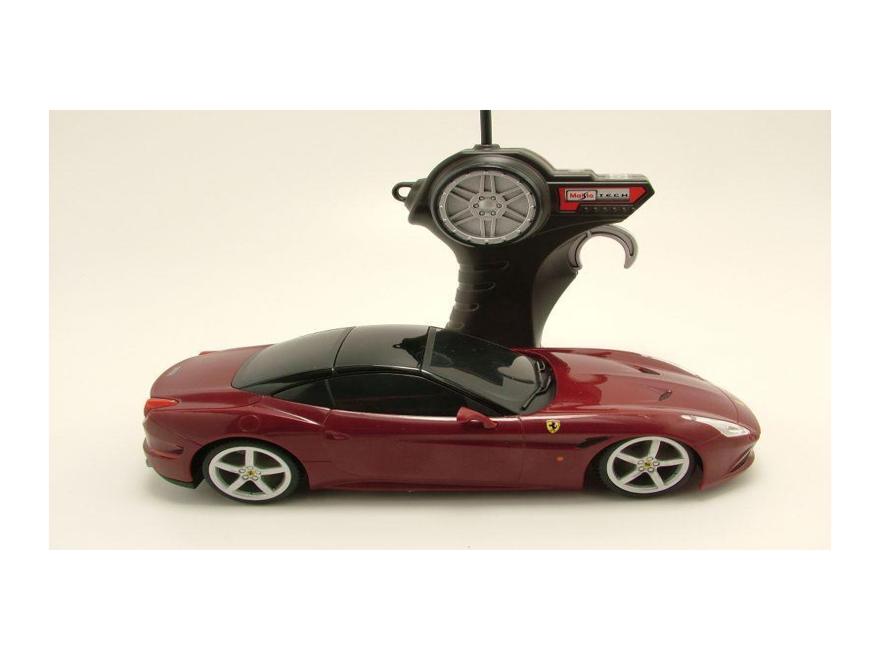 Modellauto Rc Ferrari California T Dunkelrot Mit Funkfernbedienung