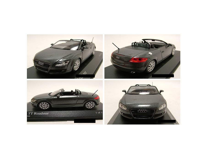 audi tt roadster 2006 grau metallic modellauto 1 43. Black Bedroom Furniture Sets. Home Design Ideas
