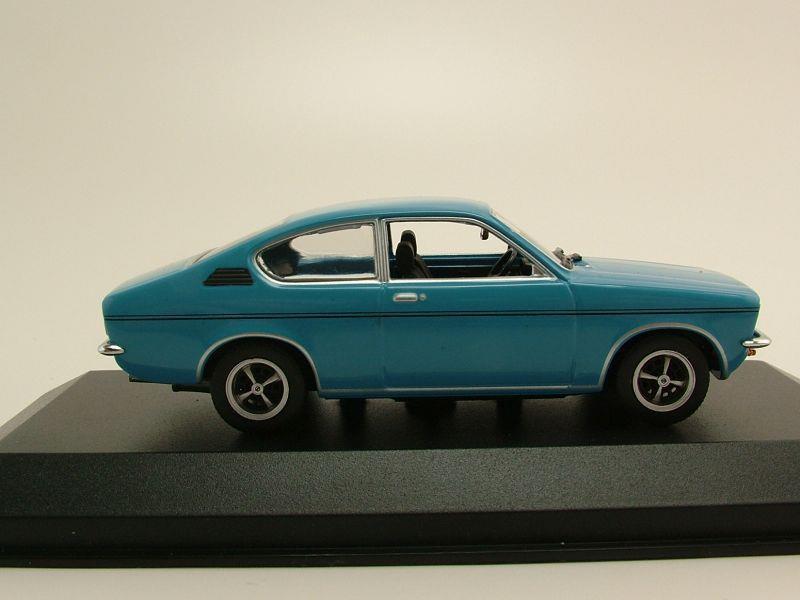 opel kadett c coupe 1973 blau modellauto 1 43 minichamps 53 95. Black Bedroom Furniture Sets. Home Design Ideas