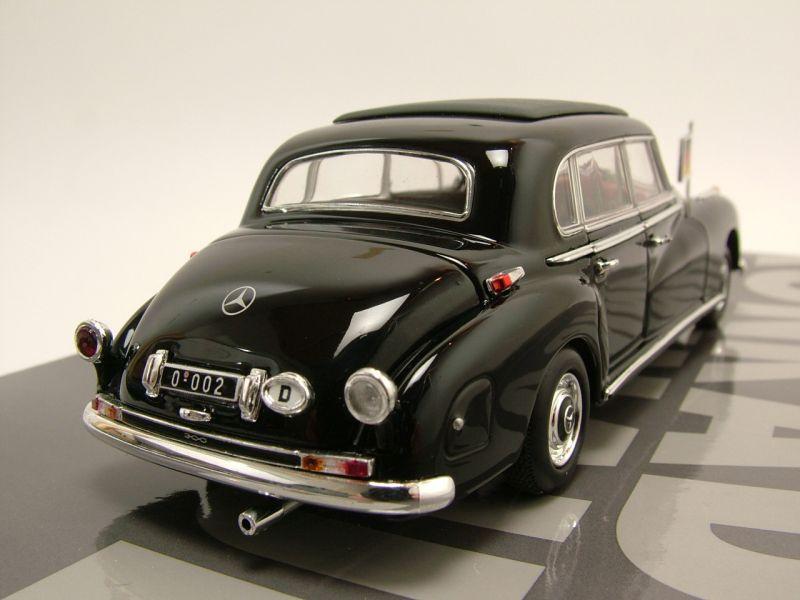 mercedes 300 b w186 iii konrad adenauer 1955 schwarz. Black Bedroom Furniture Sets. Home Design Ideas
