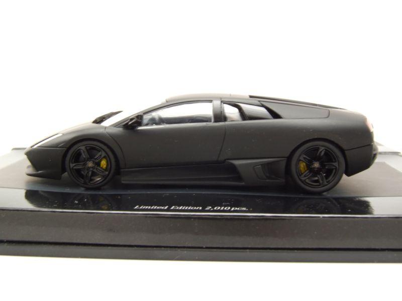 Lamborghini Murcielago 2006 matt schwarz 1:43 Minichamps neu OVP